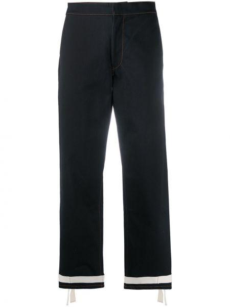 Czarne jeansy bawełniane Jil Sander