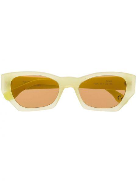 Солнцезащитные очки - желтые Retrosuperfuture