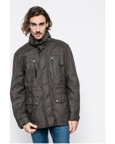 Утепленная куртка прямая на кнопках Camel Active