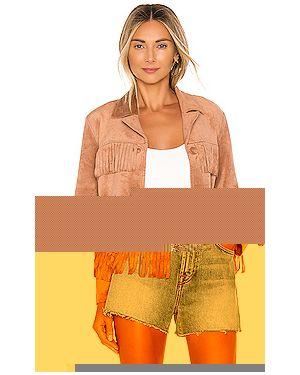 Куртка замшевая на пуговицах Bb Dakota