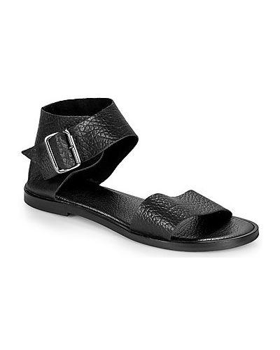 Czarne sandały Felmini