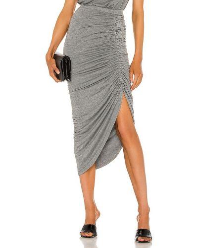 Серебряная юбка на резинке с оборками Generation Love