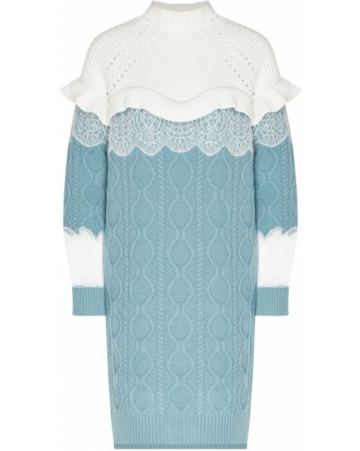 Платье мини миди платье-свитер Fendi