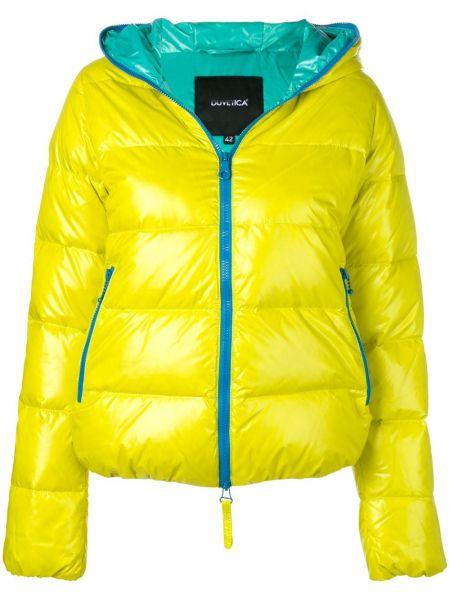 Короткая куртка мятная Duvetica