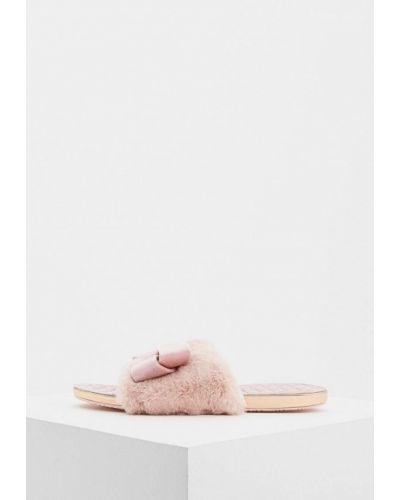 Розовые домашние тапочки Ted Baker London