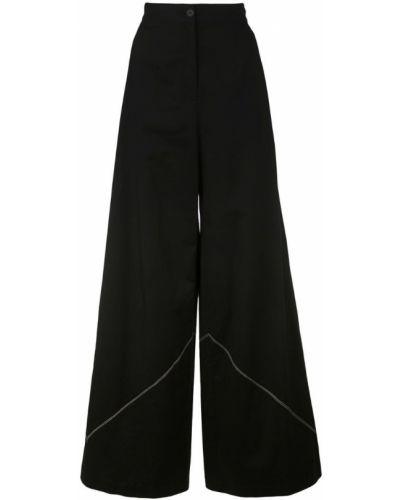 Свободные брюки с карманами черные Tome
