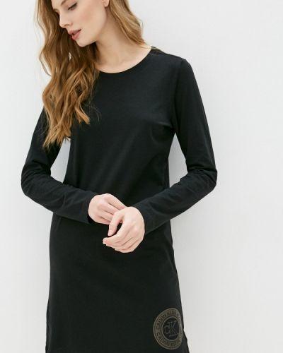 Домашнее черное платье Calvin Klein Underwear