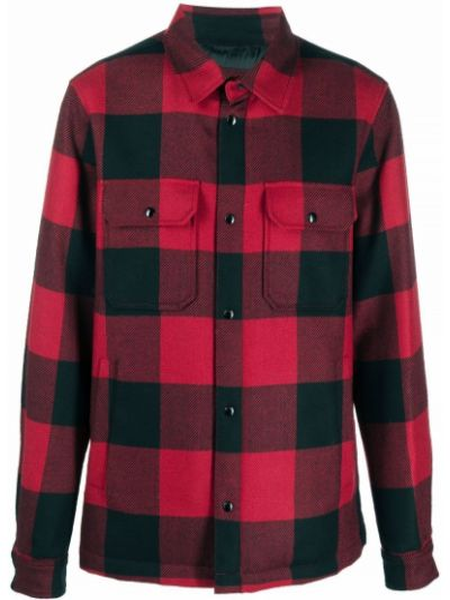 Рубашка с длинным рукавом - черная Woolrich