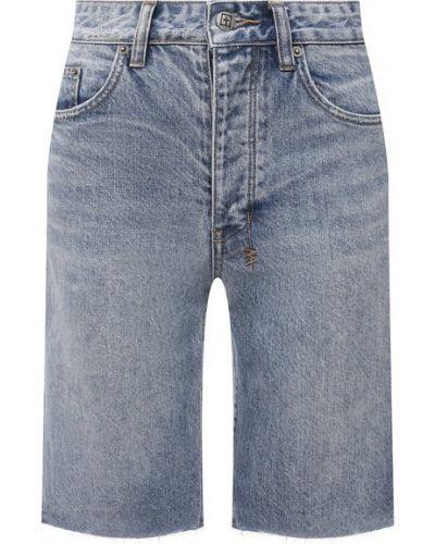 Джинсовые шорты - синие Ksubi