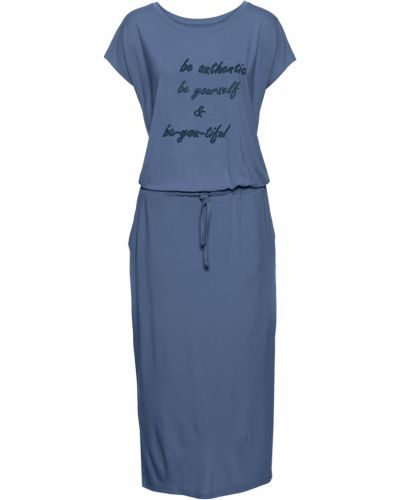 Платье с короткими рукавами Bonprix