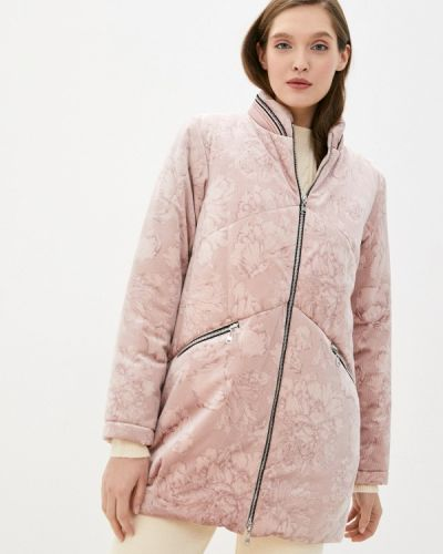 Теплая розовая утепленная куртка Alexander Bogdanov