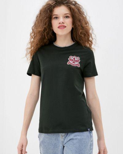 Зеленая футболка с короткими рукавами Superdry