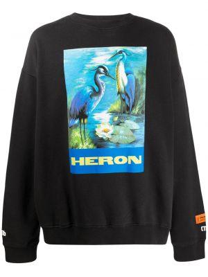 Bluza na szyi długo Heron Preston