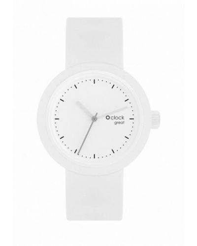 Белые часы O Bag