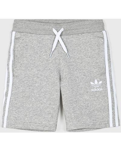 Szorty z kieszeniami szary Adidas Originals