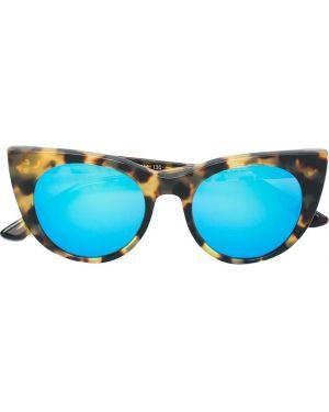 Муслиновые солнцезащитные очки хаки Kyme Junior