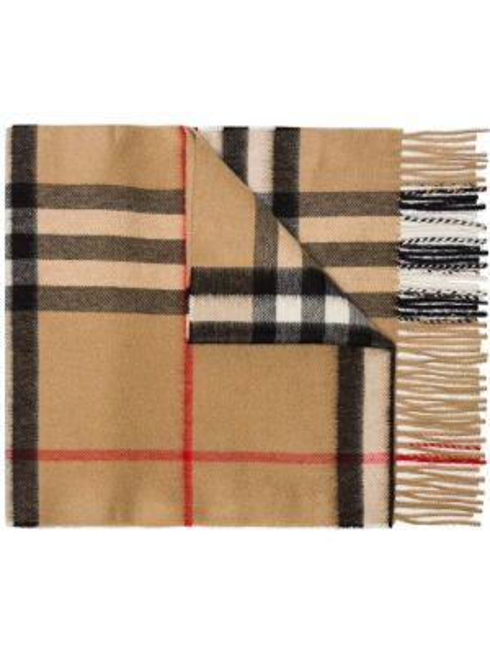 Шерстяной шарф - бежевый Burberry