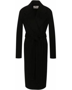 Пальто шерстяное пальто Acne Studios