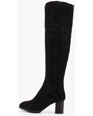 Ботинки на каблуке черные осенние Vivian Royal