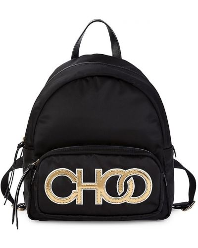Кожаный рюкзак - черный Jimmy Choo