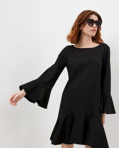 Повседневное черное платье French Connection