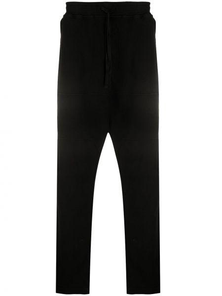 Czarne spodnie bawełniane Stone Island Shadow Project