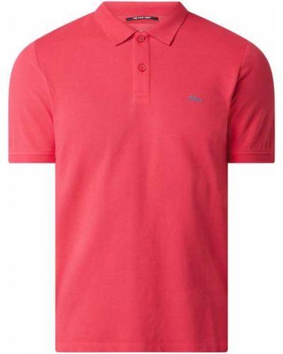 Różowy t-shirt bawełniany S.oliver Red Label