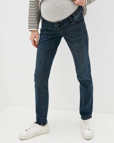 Прямые джинсы - синие Mama.licious