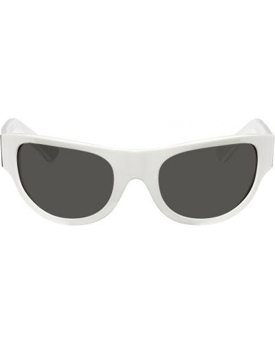 Okulary srebrne - białe Retrosuperfuture