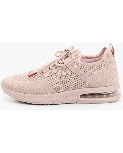 Текстильные розовые кроссовки S.oliver