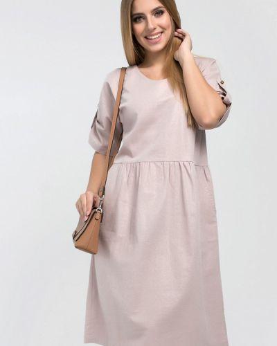 Розовое платье миди Eliseeva Olesya