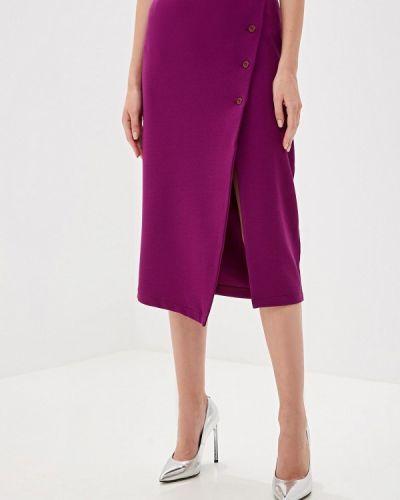 Розовые классические брюки с карманами Perfect J