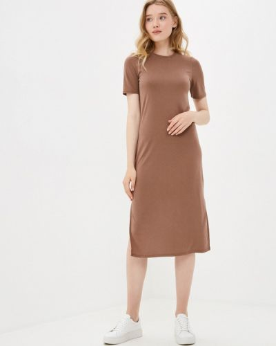 Коричневое платье Sela