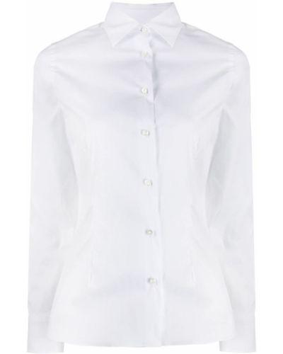 Расклешенная рубашка с воротником Barba