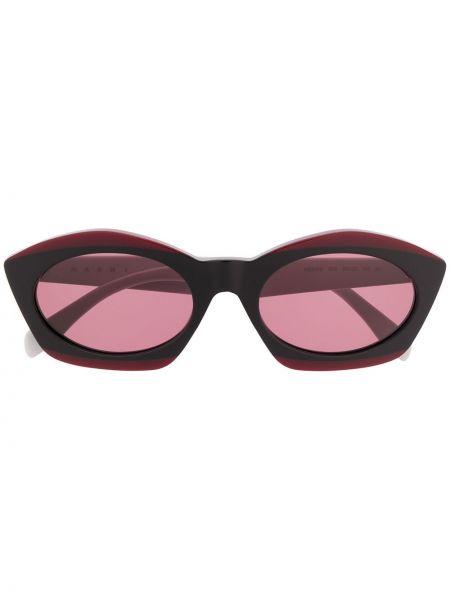 Прямые муслиновые солнцезащитные очки Marni Eyewear