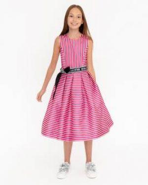 Платье макси розовое спортивное Gulliver Wear