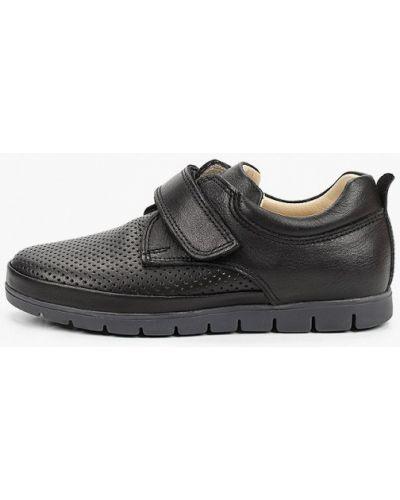 Кожаные черные туфли Kapika