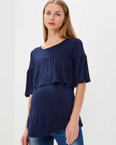 Синий лонгслив для беременных Gap Maternity