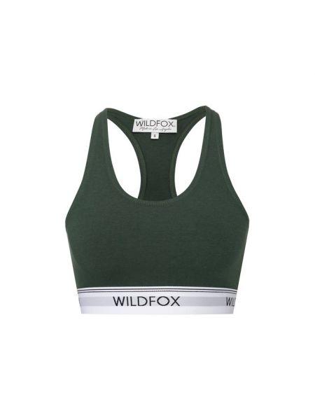 Хлопковый топ - зеленый Wildfox