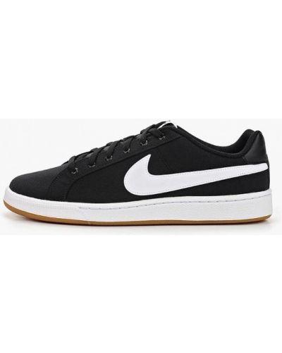 Низкие кеды черные демисезонный Nike