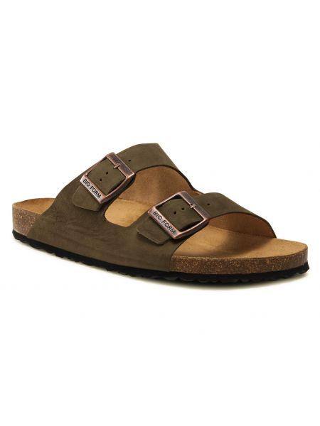 Zielone sandały na lato Nik