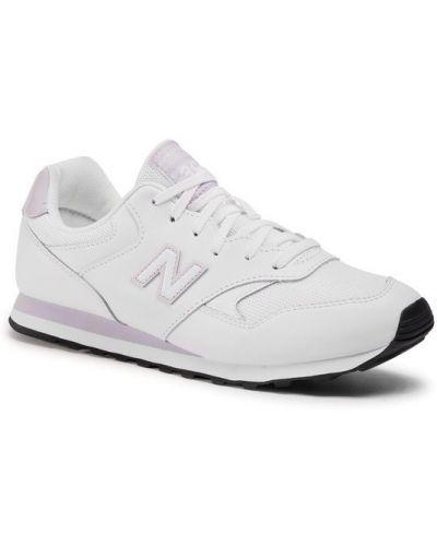 Białe sneakersy New Balance