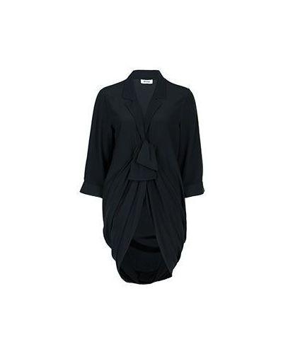 Черная блузка Moschino