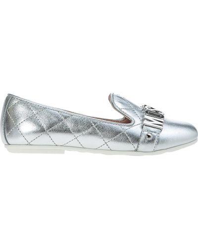 Туфли серебряный Moschino