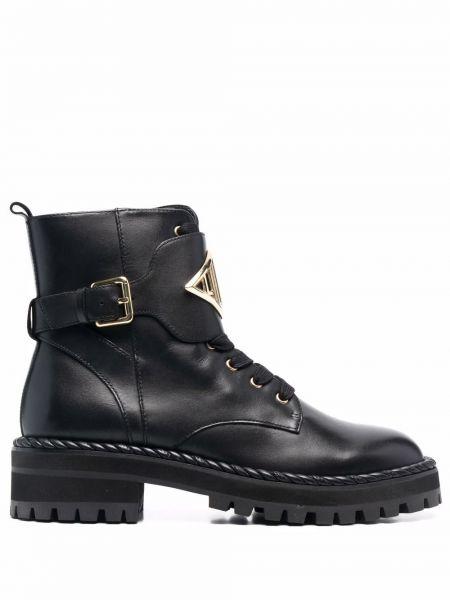 Черные ботинки на шпильке Liu Jo