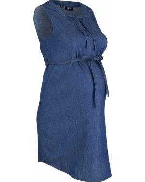 Платье для беременных с завязками Bonprix