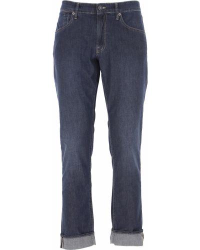 Niebieskie jeansy bawełniane Siviglia