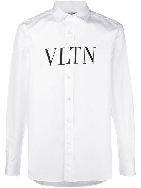 Koszula z długim rękawem klasyczna z logo Valentino