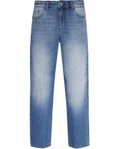 Прямые джинсы укороченные винтажные Emporio Armani
