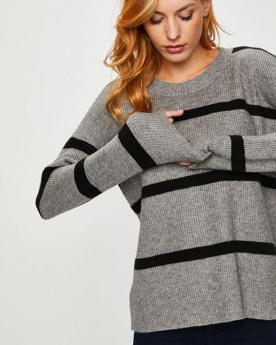 Вязаный свитер в полоску с узором Silvian Heach